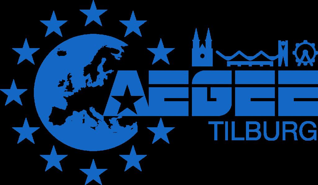 AEGEE-Tilburg Logo Blauw